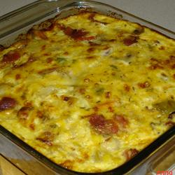Christmas Brunch Casserole - About A Mom